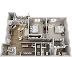 Brook Highland Place Richmond Floor Plan