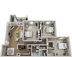 Brook Highland Place Montgomery Villa Floor Plan